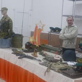 Выставка военной атрибутики