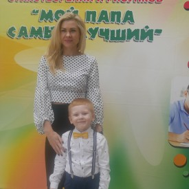 """Участники конкурса """"Мой папа самый лучший"""""""